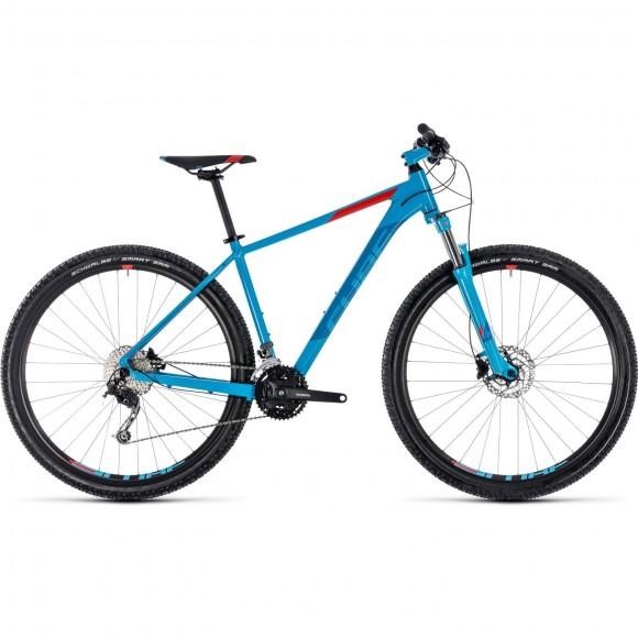 Bicicleta Cube Aim Sl Blue Red 2018