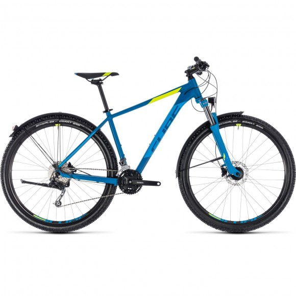 Bicicleta Cube Aim Sl Allroad Blue Flashyellow 2018