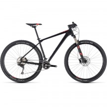 Bicicleta Cube Reaction Pro Black Red 2018