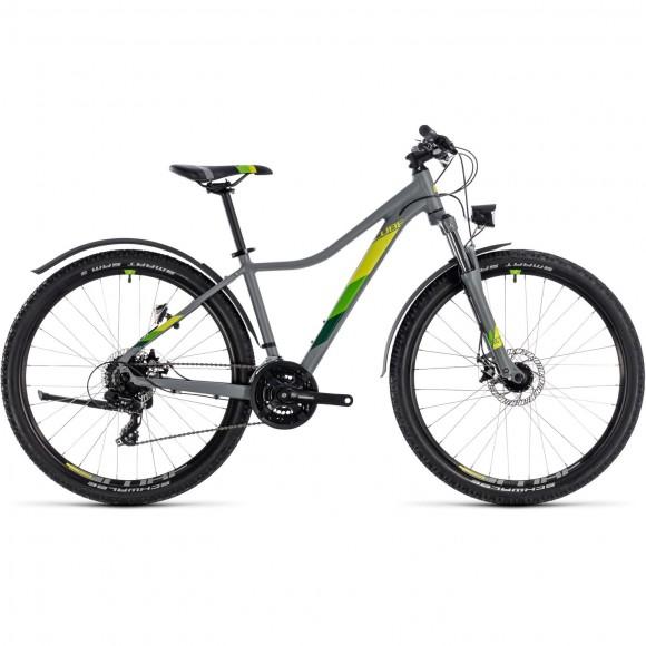 Bicicleta Cube Access Ws Allroad Grey Green 2018