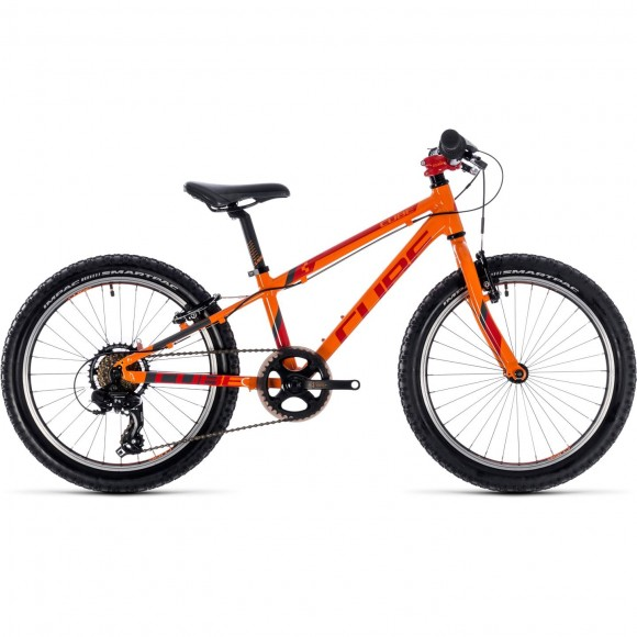 Bicicleta Cube Kid 200 Orange Red 2018