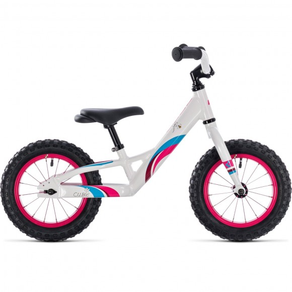Bicicleta Cube Cubie 120 Girl White Pink 2018