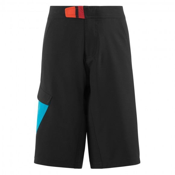 Pantaloni Cube Junior Shorts Black Blue White