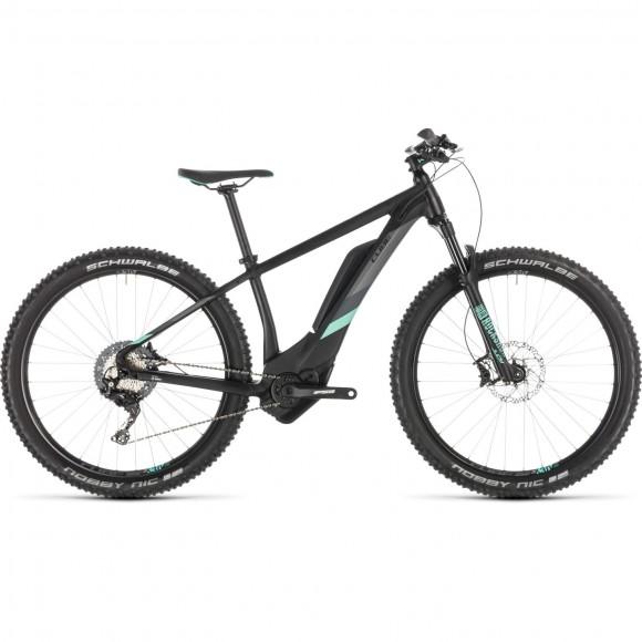 Bicicleta Cube Access Hybrid Race 500 Black Mint 2019