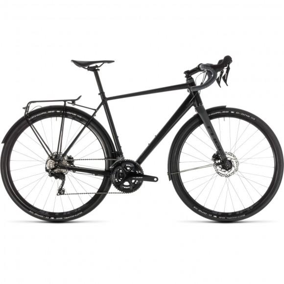 Bicicleta Cube Nuroad Race Fe Black Grey 2019