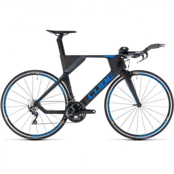 Bicicleta Cube Aerium Race Carbon`n`blue 2019