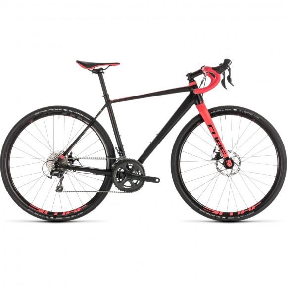 Bicicleta Cube Nuroad Ws Black Coral 2019