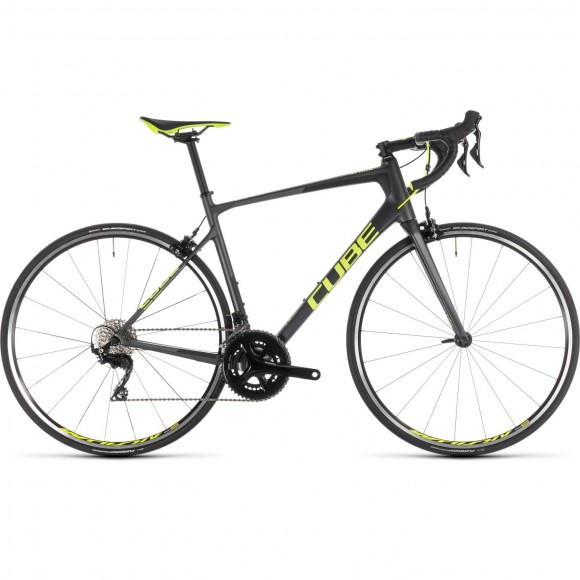 Bicicleta Cube Attain Gtc Pro Iridium Flashyellow 2019