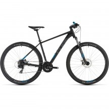 Bicicleta Cube Aim Black Blue 2019