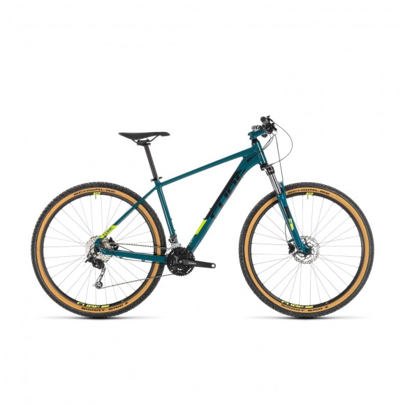 Bicicleta Cube Aim Sl Pinetree Flashyellow 2019