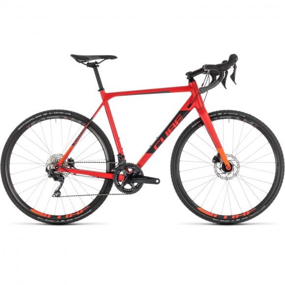 Bicicleta Cube Cross Race Sl Red Orange 2019