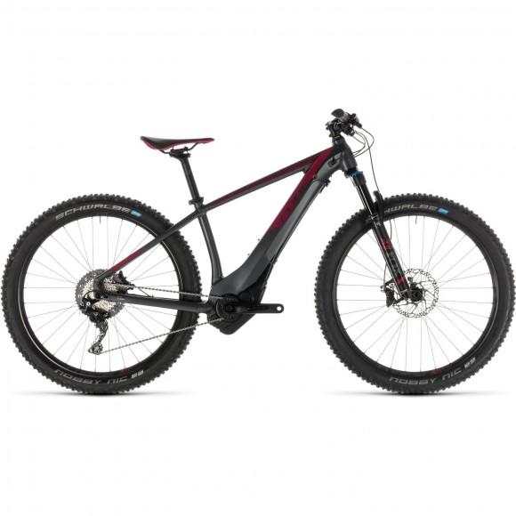 Bicicleta Cube Access Hybrid Slt 500 Kiox Iridium Berry 2019