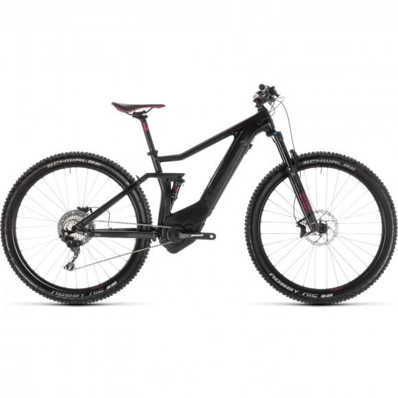 Bicicleta Cube Sting Hybrid 120 Hpc Sl 500 Kiox Carbon Berry 2019