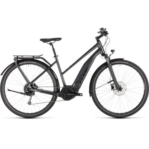 Bicicleta Cube Touring Hybrid 500 Trapeze Iridium Black 2019