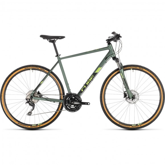 Bicicleta Cube Nature Exc Green Black 2019