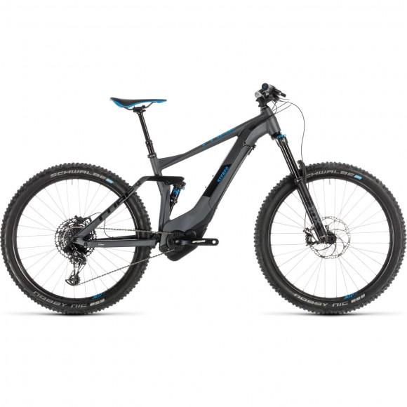 Bicicleta Cube Stereo Hybrid 140 Race 500 27.5 Iridium Blue 2019
