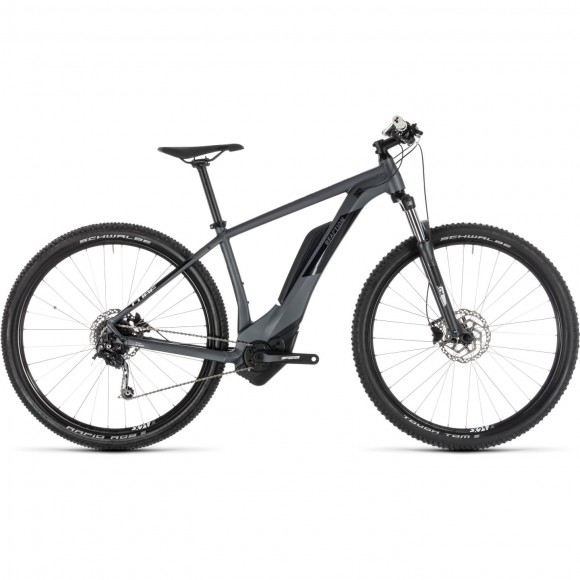 Bicicleta Cube Reaction Hybrid One 400 Iridium White 2019
