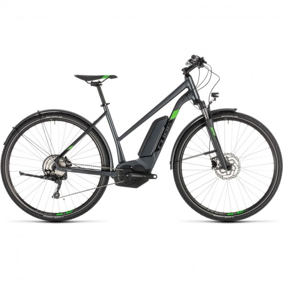 Bicicleta Cube Cross Hybrid Pro 400 Allroad Trapeze Iridium Green 2019