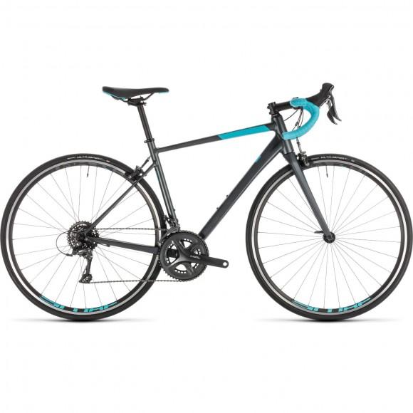 Bicicleta Cube Axial Ws Iridium Aqua 2019