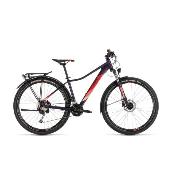 Bicicleta Cube Access Ws Pro Allroad Aubergine Rose 2019
