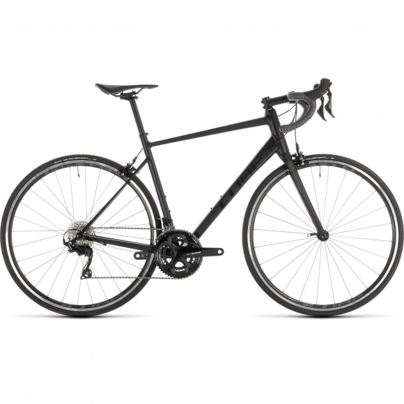 Bicicleta Cube Attain Sl Black Grey 2019
