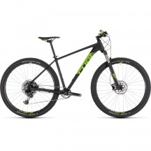 Bicicleta Cube Acid Eagle Black Flashgreen 2019