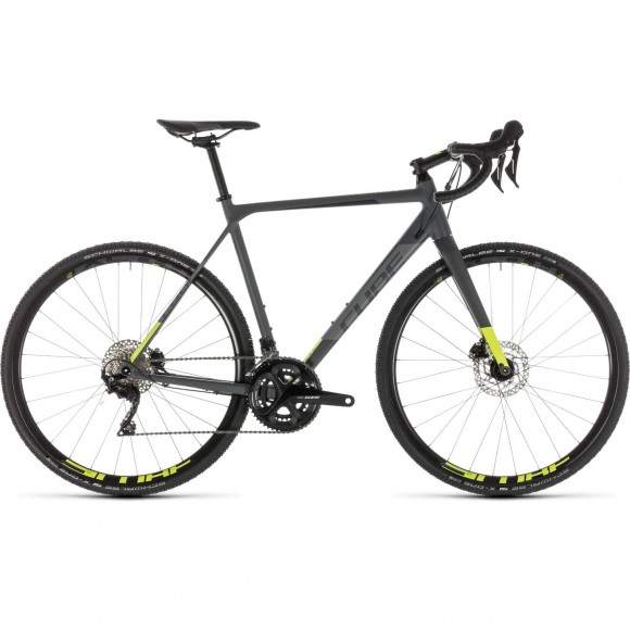 Bicicleta Cube Cross Race Pro Grey Flashyellow 2019