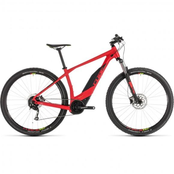 Bicicleta Cube Acid Hybrid One 500 29 Red Green 2019