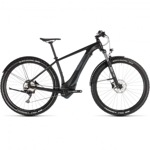 Bicicleta Cube Reaction Hybrid Exc 500 Allroad Black Grey 2019