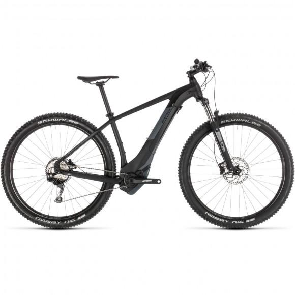 Bicicleta Cube Reaction Hybrid Exc 500 Black Grey 2019