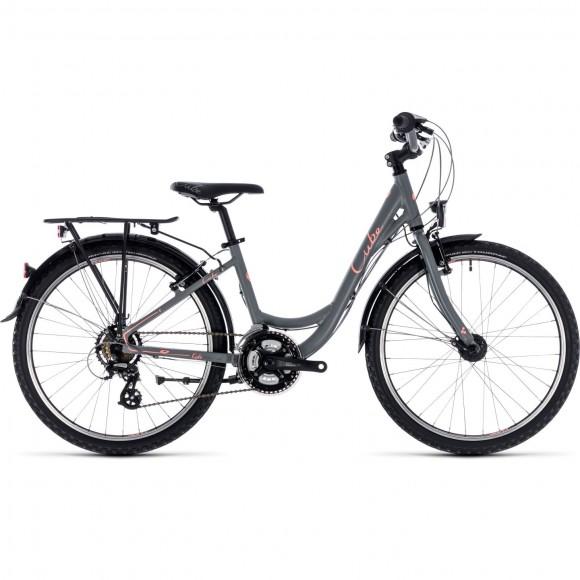 Bicicleta Cube Ella 240 Grey Coral 2019