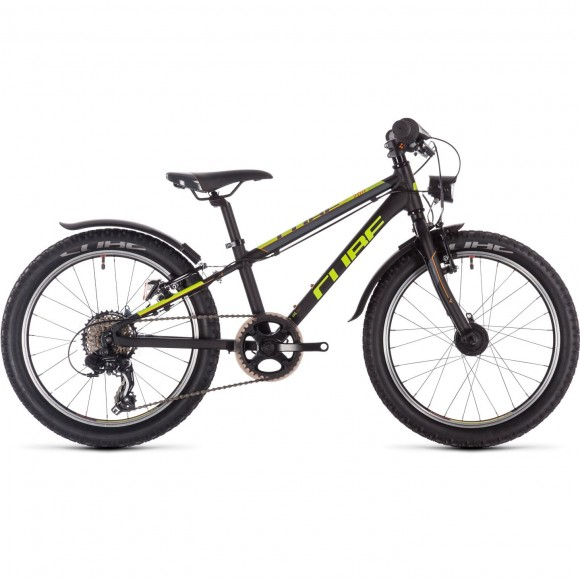 Bicicleta Cube Acid 200 Allroad Black Yellow Orange 2019