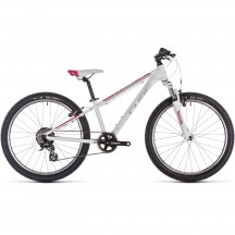 Bicicleta Cube Access 240 White Red Coral 2019