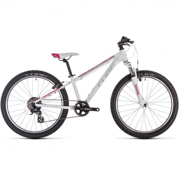 Bicicleta Cube Access 240 White Red Coral 2019
