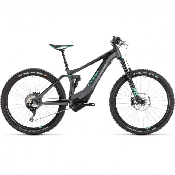 Bicicleta Cube Sting Hybrid 140 Sl 500 Kiox 27.5 Iridium Mint 2019