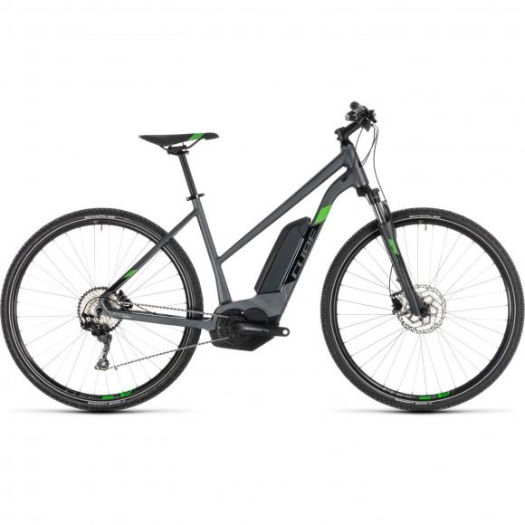 Bicicleta Cube Cross Hybrid Pro 500 Trapeze Iridium Green 2019