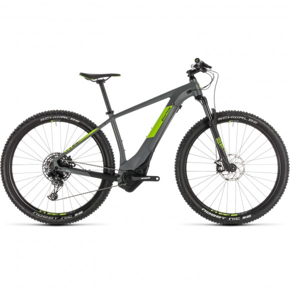 Bicicleta Cube Reaction Hybrid Eagle 500 Grey Green 2019