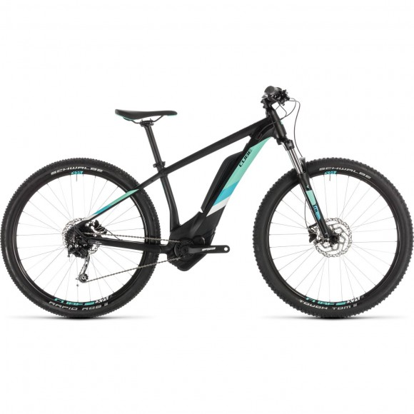 Bicicleta Cube Access Hybrid One 500 Black Mint 2019