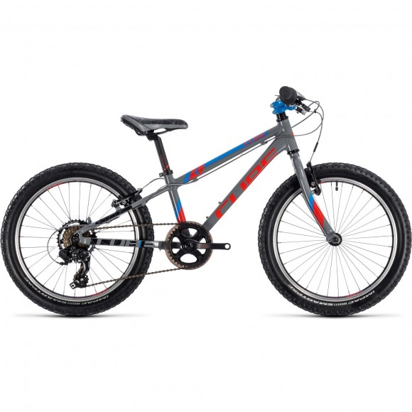 Bicicleta Cube Kid 200 Actionteam Grey 2019