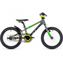 Bicicleta Cube Kid 160 Grey Green Kiwi 2019