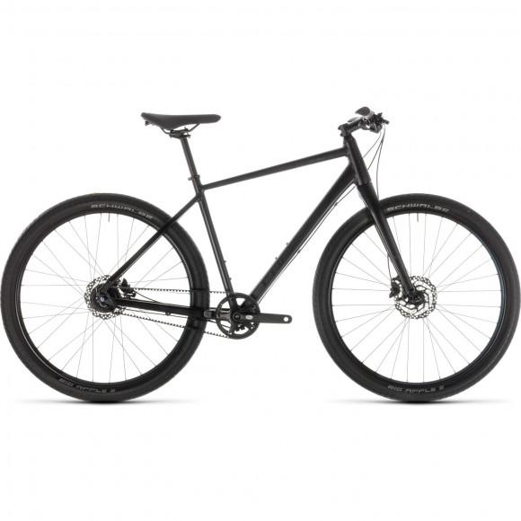 Bicicleta Cube Hyde Pro Black Blue 2019