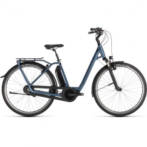 Bicicleta Cube Town Hybrid Exc Rt 400 Blue Blue 2019