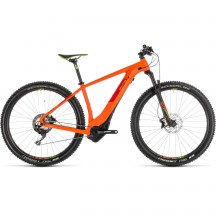 Bicicleta Cube Reaction Hybrid Sl 500 Orange Green 2019