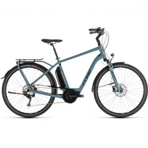 Bicicleta Cube Town Sport Hybrid Pro 500 Blue Black 2019