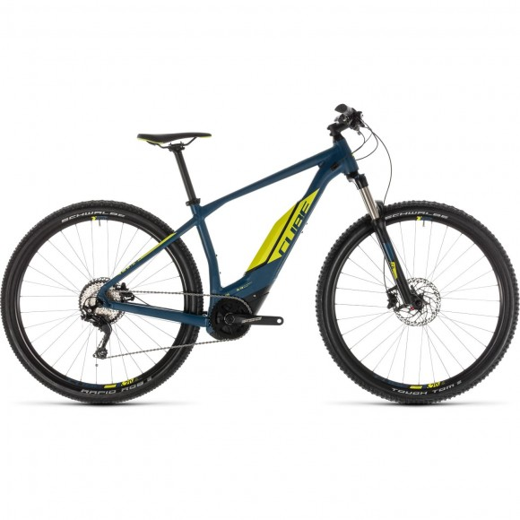 Bicicleta Cube Acid Hybrid Pro 400 29 Darkblue Lime 2019