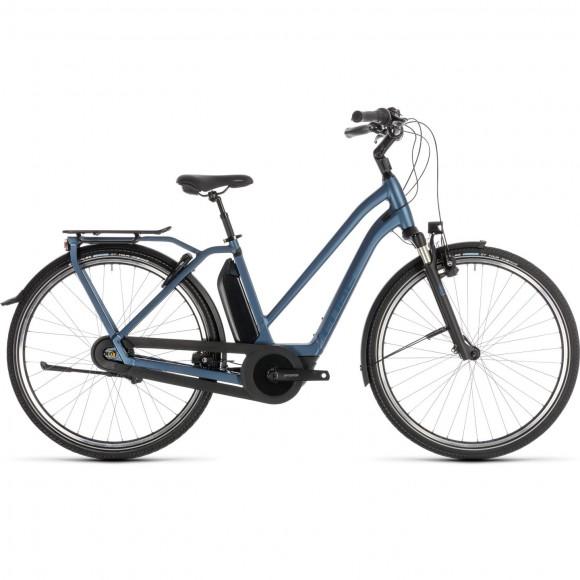 Bicicleta Cube Town Hybrid Exc 400 Trapeze Blue Blue 2019