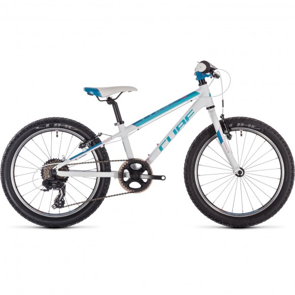 Bicicleta Cube Access 200 White Blue Pink 2019