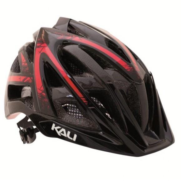 Casca Bicicleta Kali Avana Spin Black / Red