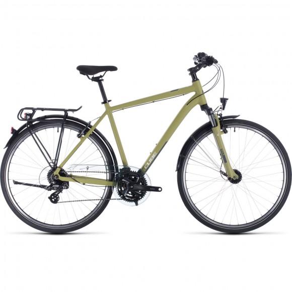 BICICLETA CUBE TOURING Green White 2020
