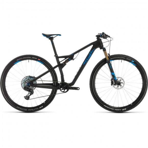 BICICLETA CUBE AMS 100 C:68 SLT 29 Carbon Blue 2020